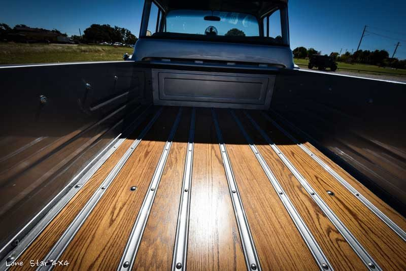 1957 Big Window Chevy Wood Grain Truck Bed