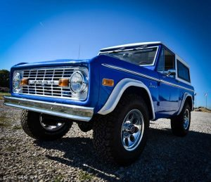 1977 Ford Bronco Front Drivers Side View
