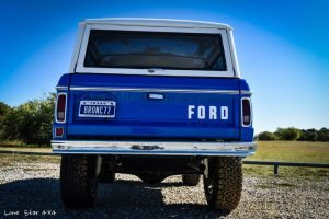 1977 Ford Bronco Rear View