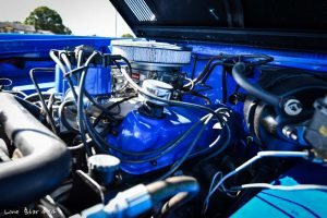 1977 Ford Bronco Engine View