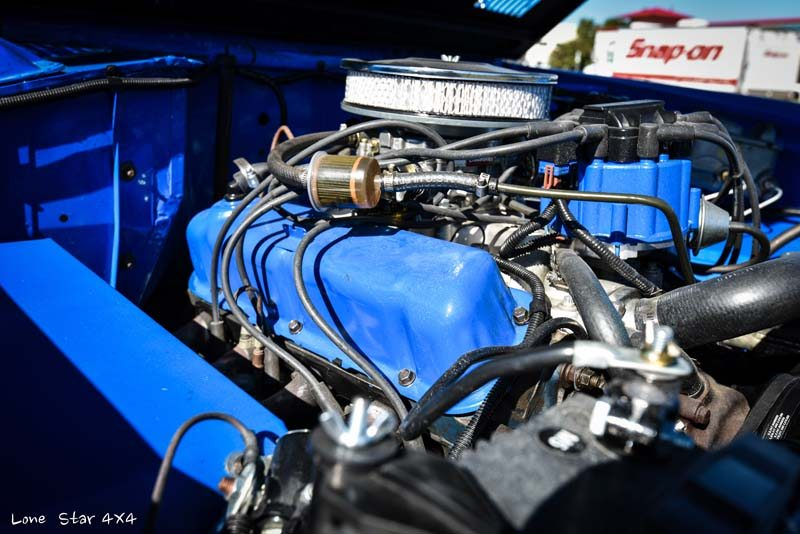1977 Ford Bronco Engine