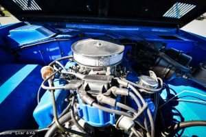 1977 Ford Bronco Under the Hood