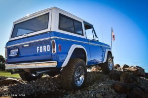1977 Ford Bronco Rear Passenger Side