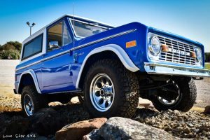 1977 Ford Bronco Front Passenger View