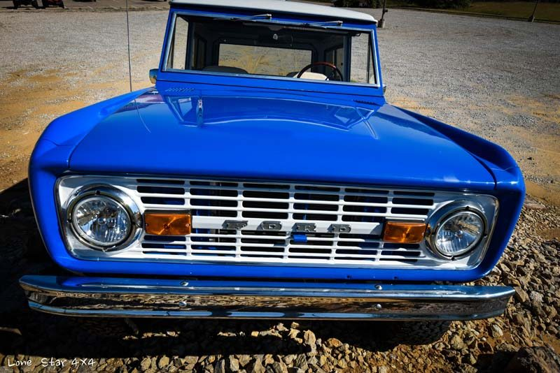 1977 Ford Bronco Front View