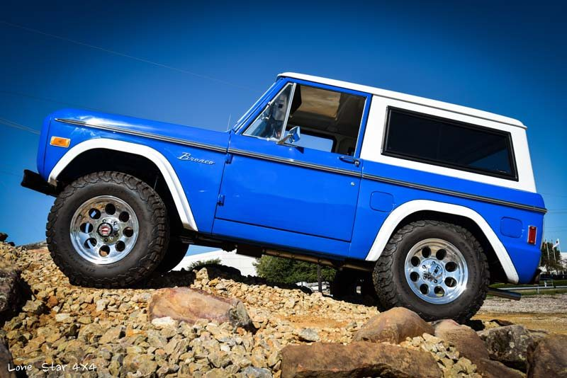 1977 Ford Bronco Drivers Side View