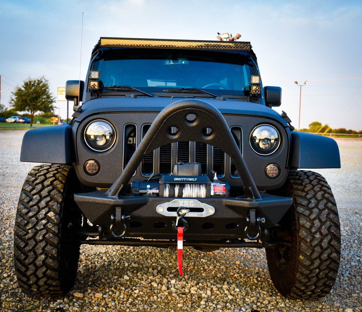 Midnight Edition Jeep Front View