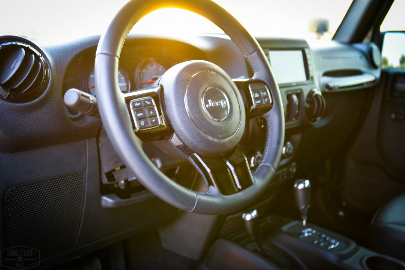 Midnight Edition Jeep Steering Wheel