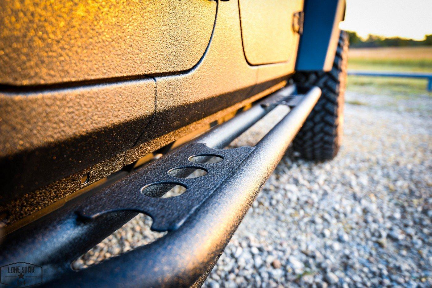 Midnight Edition Jeep Running Board